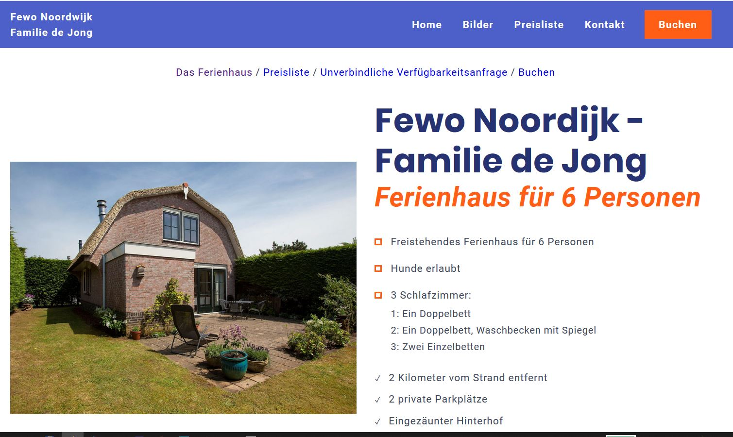 Betrugsseite Noordwijk Holland
